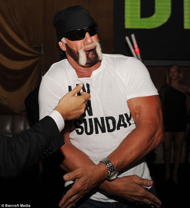 Caught out! Hulk Hogan's sex tape has now leaked onto the internet