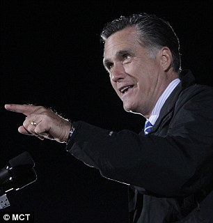 Governor Mitt Romney pointed the finger at Obama's administration for wrongly describing the attack as 'spontaneous'