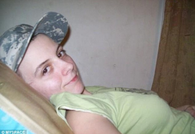 Identity: Carissa Hads posted this photo of herself on her MySpace page in which she looks like a woman
