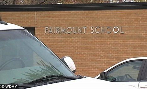 Tragedy: A freshman at Fairmount Public School in rural North Dakota shot himself in front of his first period class