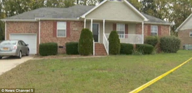 Home: The house in Smyrna, Tennessee where the Guyanese couple's 8-year-old son found his parents dead as two other children slept in their rooms