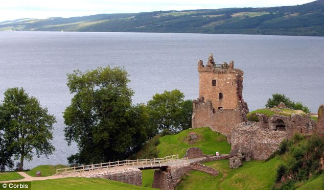 Potential place: While Lama Yeshe would not disclose the exact location of the planned centre it is believed the centre could be based in Drumnadrochit (pictured Urquhart Castle in the village)
