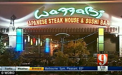 Complaint: The customers were not pleased with the quality of the food at Wazzabi restaurant in Florida or the service