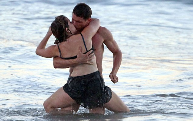 Sordid: Parenthood actress Mae Whitman and co star Matt Lauria shoot romantic scene on Tuesday October 16