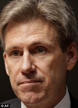 Killings: Ambassador Chris Stevens was one of four Americans killed in the Benghazi attack on September 11 (right)