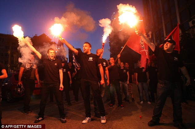 Hatred: The far-right Golden Dawn uses fascist symbols. Almost a quarter of Greeks under 25 support the party