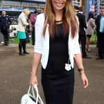 Katie Piper Goes For Monochrome Chic In Sophisticated Black And White Outfit As She Leads The Famous Faces At Ascot Daily Mail Online