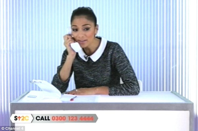 She's got The X Factor: Nicole Scherzinger appeared in a comedy skit at the start of the show