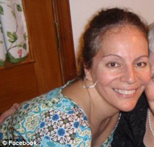 A woman identified as Rebecca Sardoni's mother Stephanie Sardoni from her facebook page.