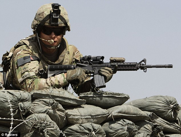 Suicides: A total of 247 U.S. soldiers are suspected to have taken their own lives between January and September this year, army data shows. This compares to 222 deaths from 'hostile causes' in Afghanistan