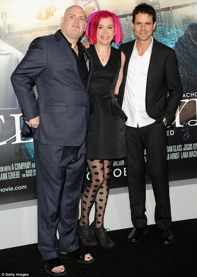 Dream team: Sibling directors Andy and Lana Wachowski of Matrix fame, and Tom Tykwer