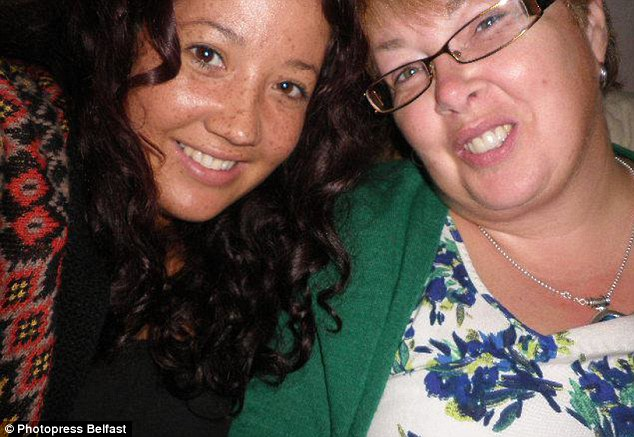 Tragic: The family of Channing Day, pictured with her mother Rosemary, have been informed of her death