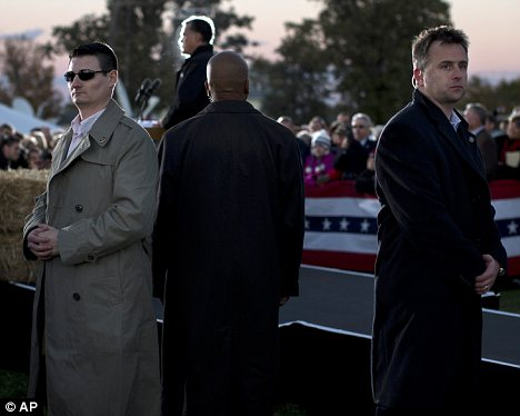 Protection: Secret Service officers are responsible for the safety of candidates