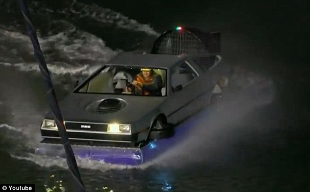 Man Builds Delorean Inspired Hovercraft In The Hope That
