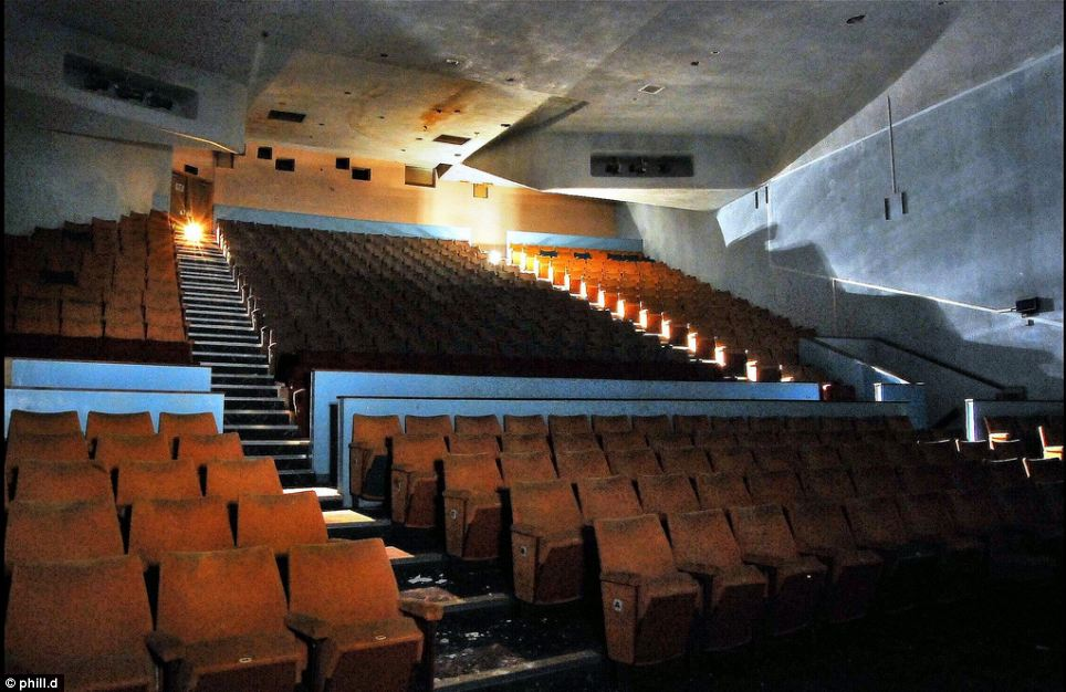 Eerie Pictures Inside The Opulent Cinema For Sale For 1