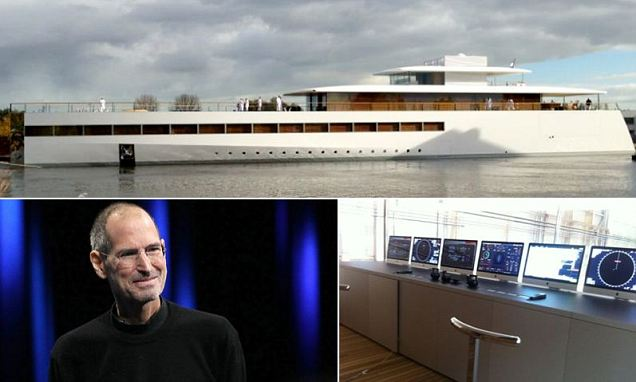 Sadly, Jobs, who died in October 2011 of complications from pancreatic cancer, never saw his creation finished.