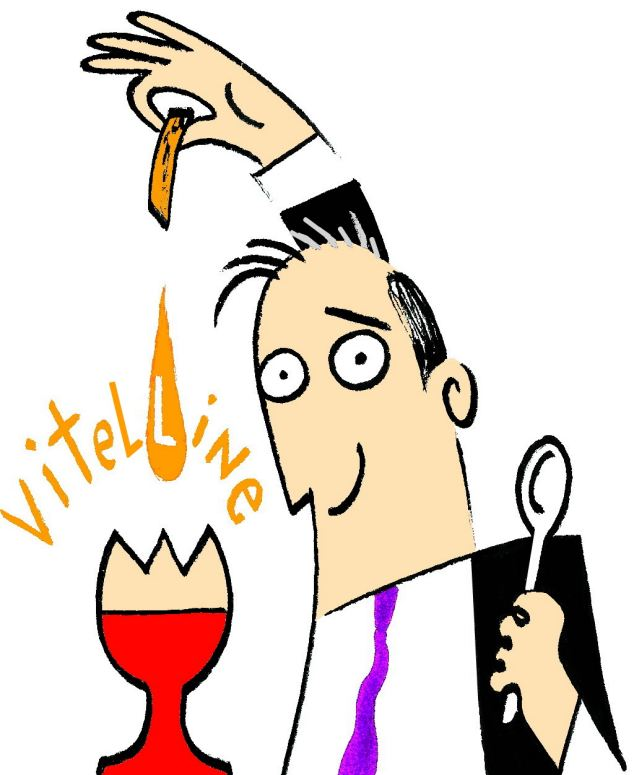 Olde English food: Breakfast means an opportunity to dine on vitelline - which means 'of egg yolk'
