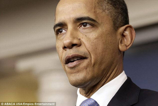 U.S. President Barack Obama speaks about preparations for Hurricane Sandy during a briefing at the White House