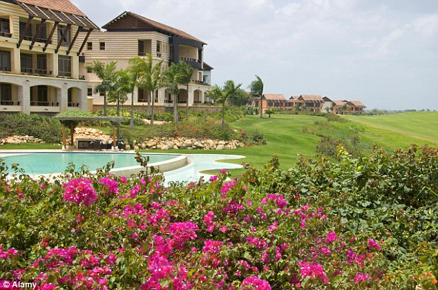 Luxurious: Casa de Campo, the 7,000-acre exclusive resort in the Dominican Republic, where the Senator is said to have paid $100 for sex acts