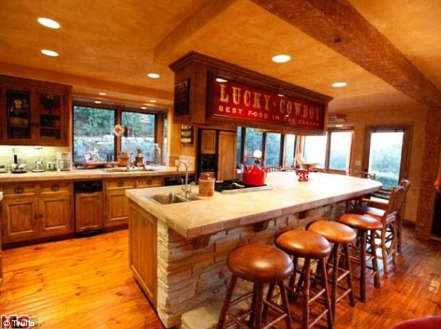 kitchen island set cream cabinet ideas home improvement star tim allen splashes out $1.4m on ...