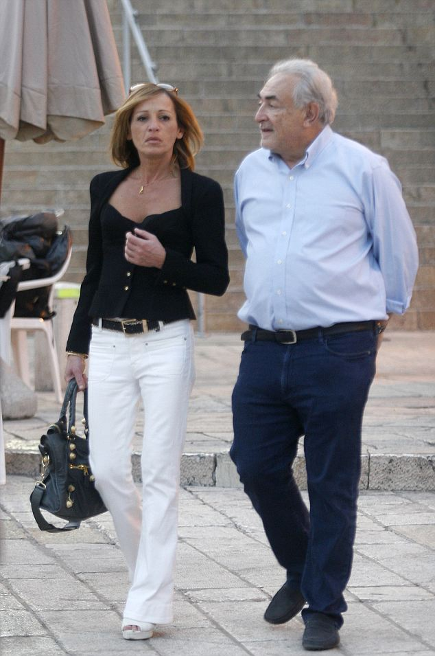 Dominique Strauss Khan seen with his new partner Myriam Aouffir spotted at Jerusalem's Wailing Wall