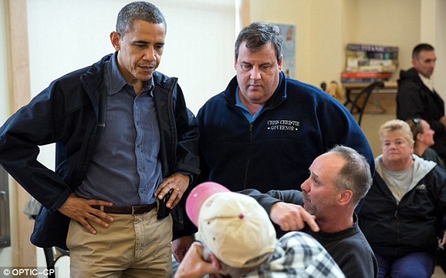 Bipartisan courtship: 'We're both doing what we wanted to do, which is to get things done,' Christie said of Obama this week