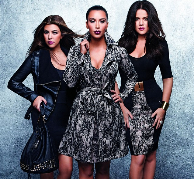 The Kardashians are renowned for their high octane-high-sex-appeal fashion sense, and this collection aims to emulate the individual styles of each sister