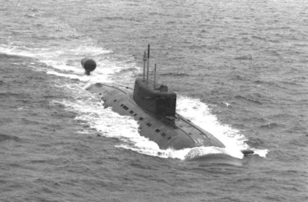 Armed: The Sierra 2-class submarine was armed with anti-submarine missiles and torpedos