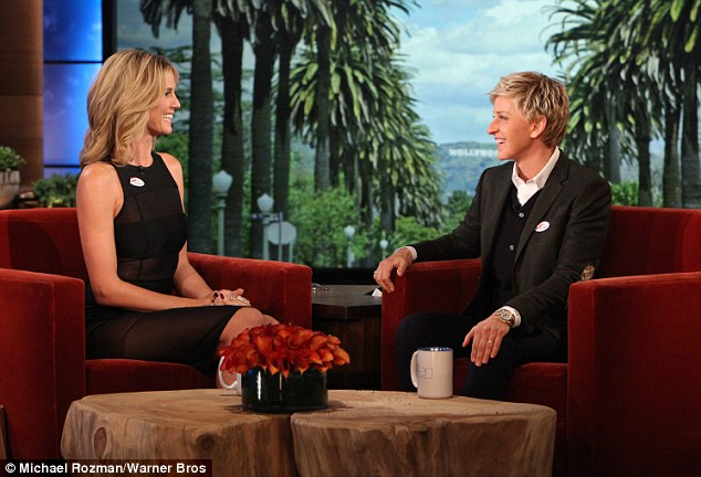 It's my favourite! Heidi Klum jokes about watching the film The Bodyguard with Ellen DeGeneres on her show on Tuesday