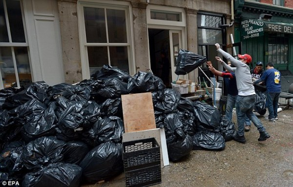 New York City cuts back on waste removal and halts