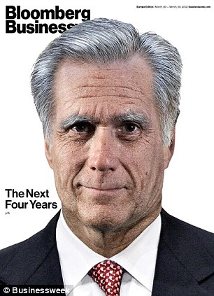 Winner and Loser? Bloomberg Businessweek imagines what President Obama and Mitt Romney would have looked like in 2016 after four years in the White House