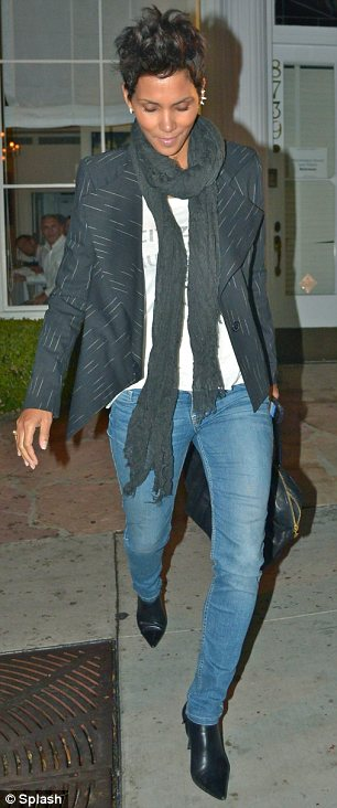 Long time coming: Halle and Nahla's father Gabriel Aubry have been embroiled in a custody battle for months