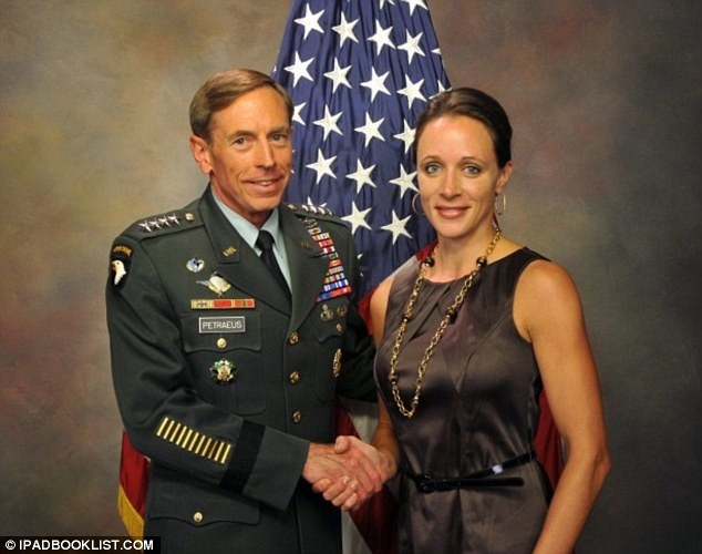 Perks: David Petreaus took his mistress with him on a government funded trip to Paris after he was named director of the Central Intelligence Agency