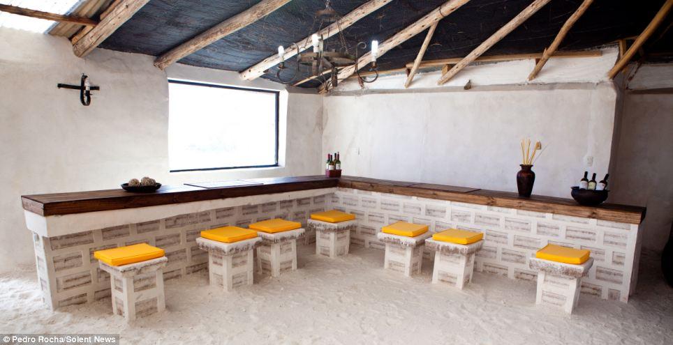 Bolivian salt hotel The Palacio de Sal resort thats