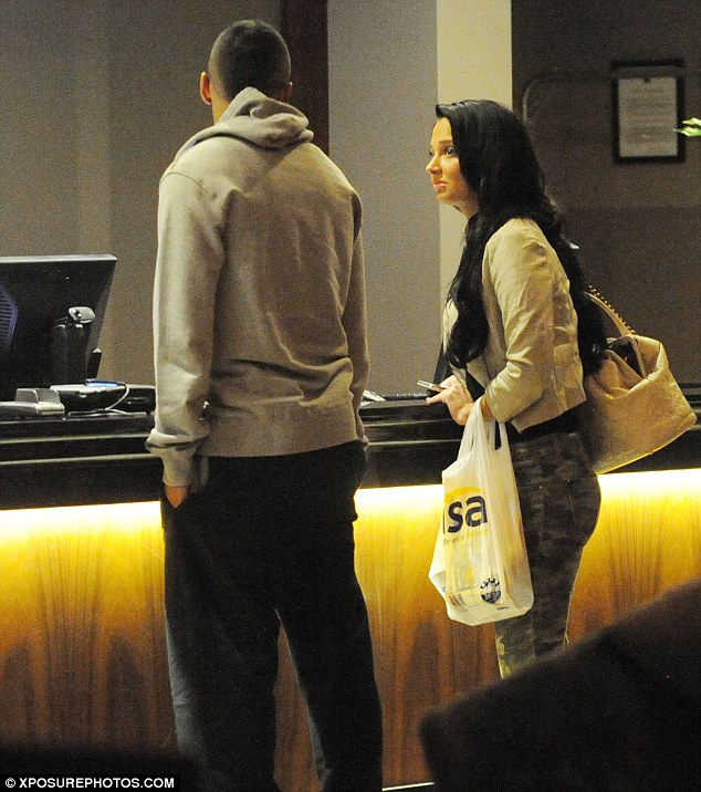 Lashing out: Tulisa Contostavlos has been branded a 'homewrecker' for reportedly romancing Newcastle ace Danny Simpson