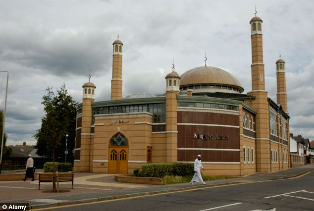 The chef describes coming off the ring road to escape a traffic jam and becoming lost in Leicester, pictured, where she says she found herself in an area where all the men were wearing Islamic clothing