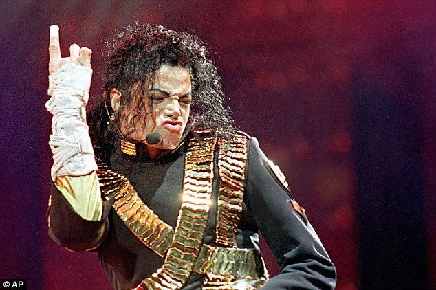Heyday: Jackson, pictured performing during his 'Dangerous' tour in Bangkok in 1993, began to use pills and drugs to fight his insomnia the same year