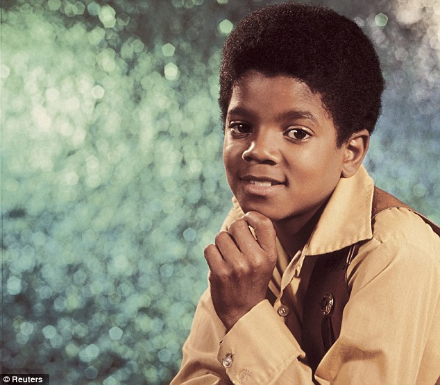 Child star: Michael Jackson when he was still part of The Jackson 5 pop group with his brothers