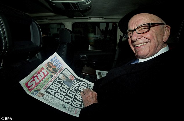 News Corp Chairman Rupert Murdoch has taken to his Twitter feed to question the 'bias' he feels that certain U.S. media organisations are displaying towards the fresh conflict in Gaza and Israel