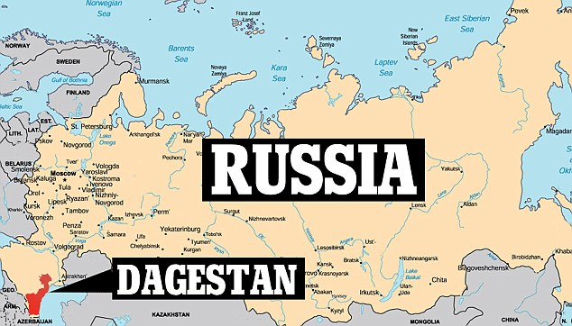 Location: At least 12 religious leaders have been killed over the last two years in Dagestan - allegedly by militants angry that they are too friendly with the authorities