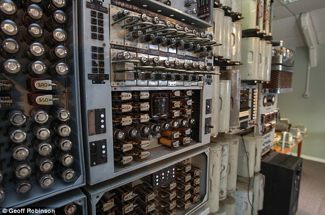 Experts started building the machine in 1949, and the computer was in use by April 1951