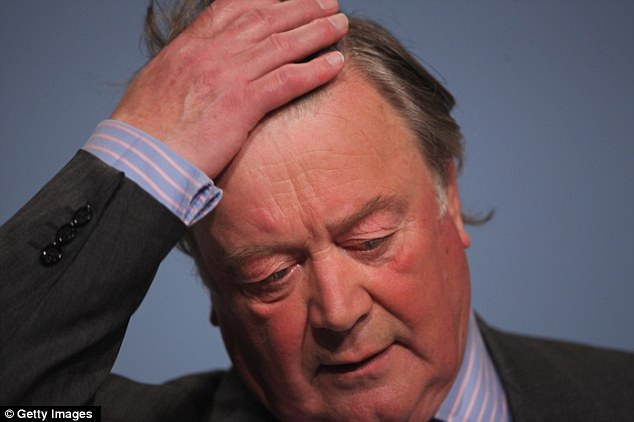 Mounting criticism: Kenneth Clarke is trying to drum up support for his unpopular and controversial Justice and Security Bill