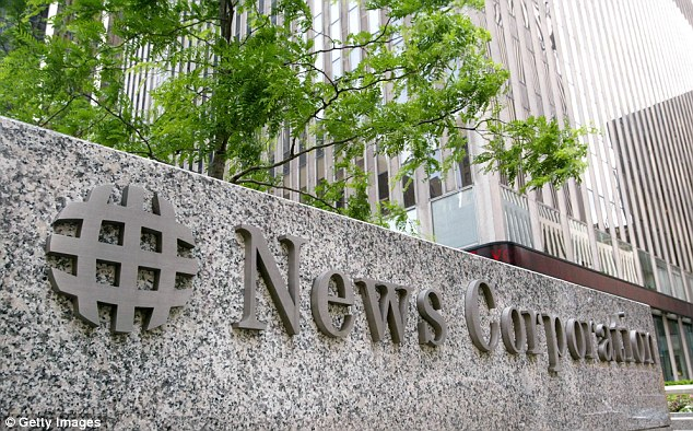 Unhappy: News Corp reacted angrily to the new allegations of bribery put forward by the Daily Beast, claiming it was 'just a lame attempt to regurgitate old news' and 'all of this was widely reported on in 2005'