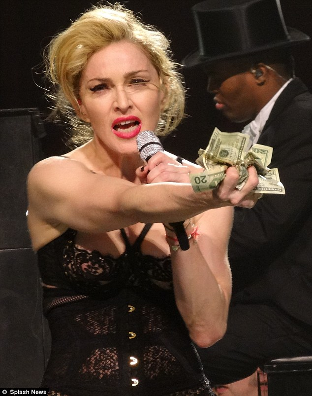 Theatrical: Madonna's show still ticks all the boxes and has been a smash hit, even with ex-husband Sean Penn who caught in LA