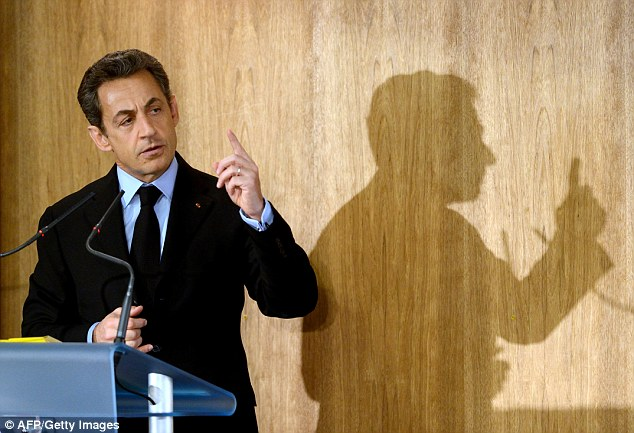 Lurking in the cyber shadows: France has accused the U.S. of infecting computers in Nicolas Sarkozy's presidential office with a sophisticated spyware virus during his failed attempt to win re-election in May