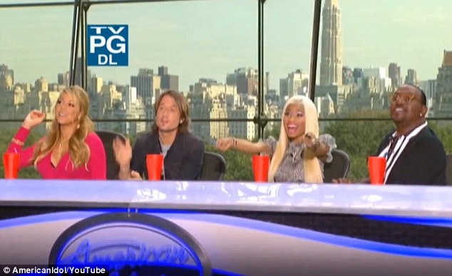 Great chemistry: Mariah's friction with fellow judge Nicki Minaj is set to provide plenty of entertainment for viewers