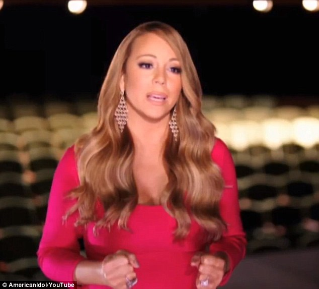 Mentor: Mariah enjoys shaping the lives of new raw talent, even though it makes her cry sometimes