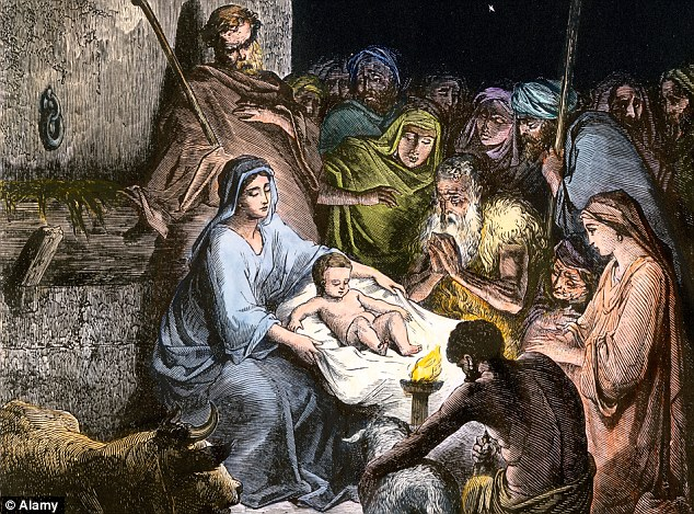 Not like this: The leader of the world's one billion Catholics is also likely to raise eyebrows with his claim in the book that donkeys and other animals do not have a place in the traditional nativity scene
