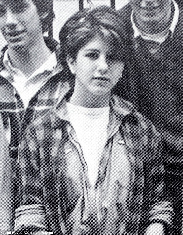 Back in the day: Jennifer Aniston dated classmate Adonis Tsilimparis when she was 12-years-old