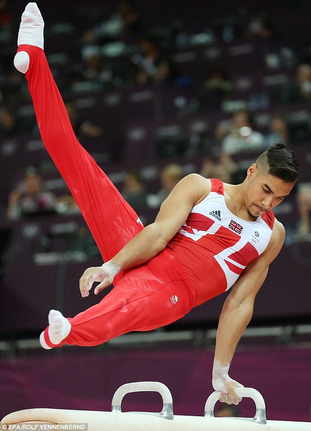 Career highlight: The gymnast won a silver and bronze medal at this year's Olympic Games